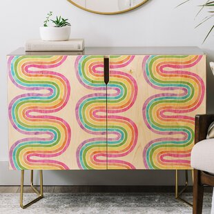 Schatzi Wave Credenza East Urban Home