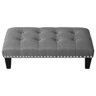 Burr Footstool By Marlow Home Co.