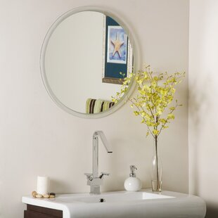 Frameless Beveled Karnia Wall Mirror ByDecor Wonderland
