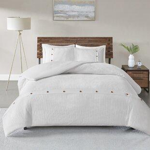 Eider & Ivory Carmella 3 Piece 100% Cotton Comforter set
