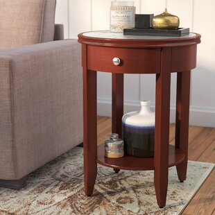 Steinman End Table with Storage