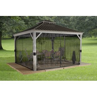 Sojag Messina Galvanized Steel Patio Gazebo