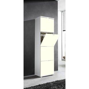 Review Espinoza 16 Pair Shoe Storage Cabinet