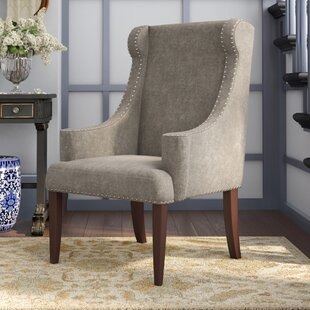 Farley Wingback Chair by Alcott Hill 2019 Sale
