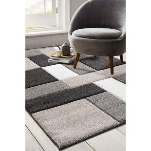 Moerchen Oriental Low Pile Turkish Black/Brown/Gray Indoor/Outdoor Area Rug