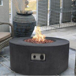 Tramore Concrete Propane Fire Pit by Modeno