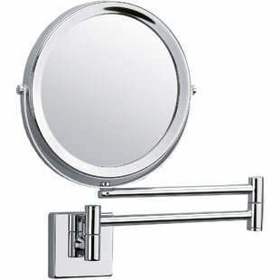 Comparison Maines 2-Arms Swivel Makeup/Shaving Mirror By Latitude Run