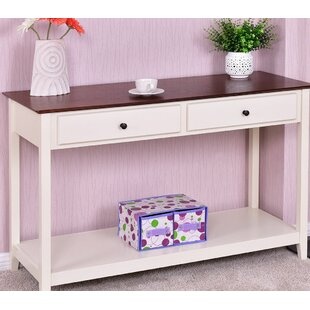 Boxford Shelf Entryway Living Room Console Table by Charlton Home