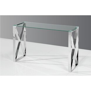 Adan Console Table by Orren Ellis