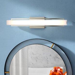 Erie 1-Light LED Bath Bar by Wade Logan