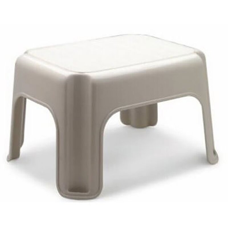 Rubbermaid Roughneck Tough 1 Step Plastic Step Stool With 300 Lb Load Capacity Reviews Wayfair