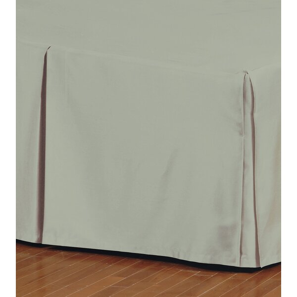 Eastern Accents Fresco Classic 100 Egyptian Cotton Pleated Bed Skirt Perigold