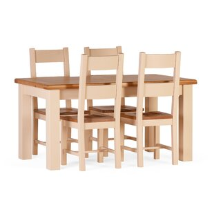 Red Lodge Dining Set With 4 Chairs By August Grove