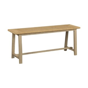 Eastville Wood Bench By Bay Isle Home