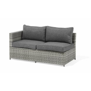 Julieta 2 Piece Rattan Sectional Seating Group with Cushions by Ivy Bronx