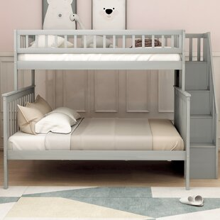 Jeterson Twin over Full Bunk Bed with Shelf