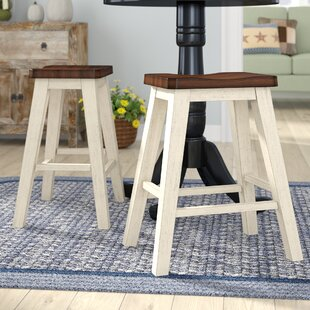 August Grove Eaglin Backless Bar Stool (S..