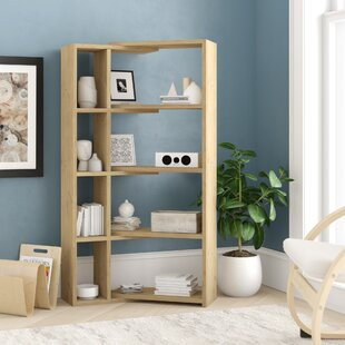 Geise Modern Corner Bookcase by Ebern Designs