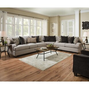 Hattiesburg Sterling Reversible Sectional by Three Posts