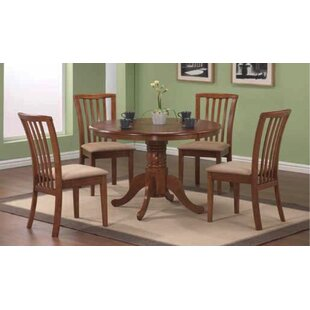 Sherman Solid Wood Dining Table Alcott Hill