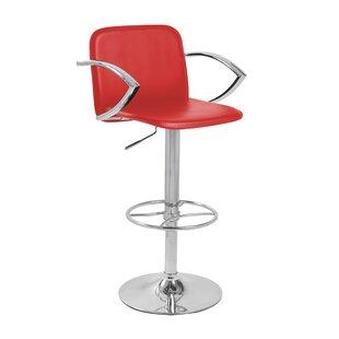 Review Barthel Swivel Adjustable Bar Stool