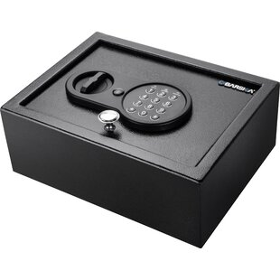 Barska Top Open Security Safe with Electronic and Key Lock