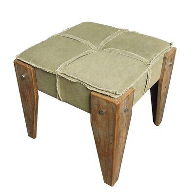 Peachy International Caravan Elegance Ottoman Color Sage Theyellowbook Wood Chair Design Ideas Theyellowbookinfo