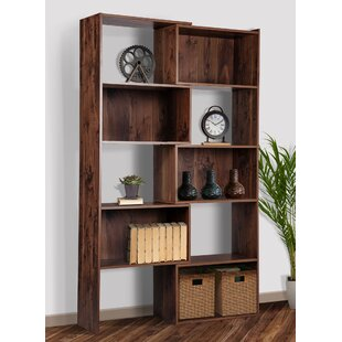Orman Expandable Geometric Bookcase By Williston Forge