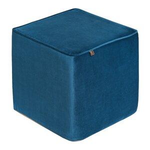 Hocker aus Velours von Scatter Box