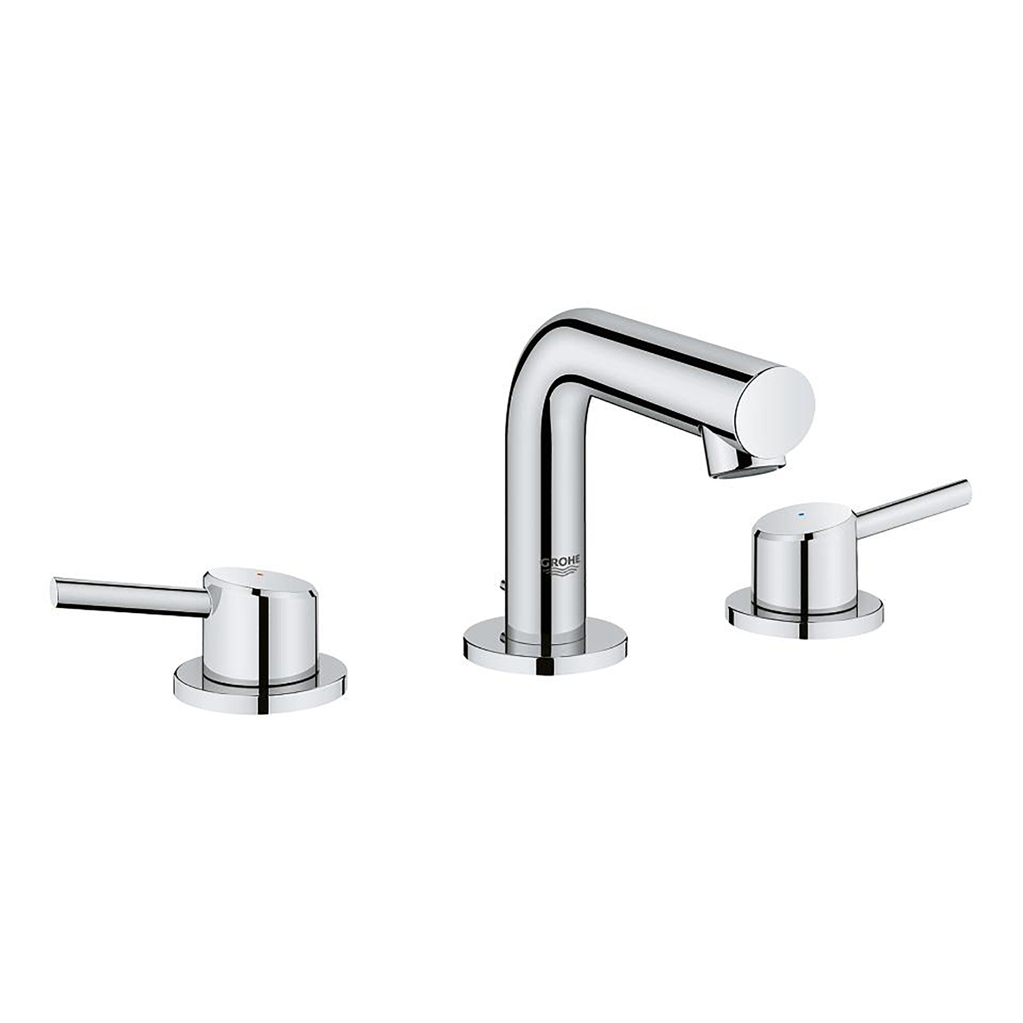 Grohe Concetto Mid Arc Widespread Bathroom Faucet With Drain Assembly Perigold