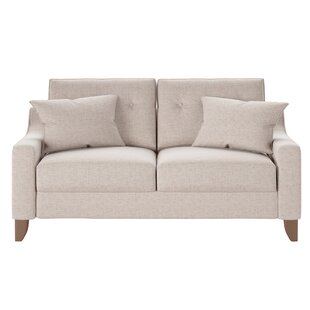 Logan Loveseat by Wayfair Custom Upholstery™