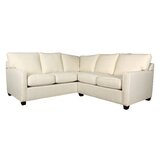 Brooks 90 Symmetrical Corner Sectional by Edgecombe Furniture