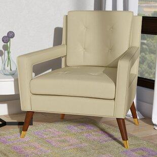 Langley Street Alverstone Velvet Armchair