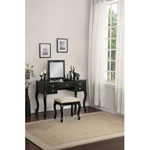 Hollen Vanity Set by Charlton Home