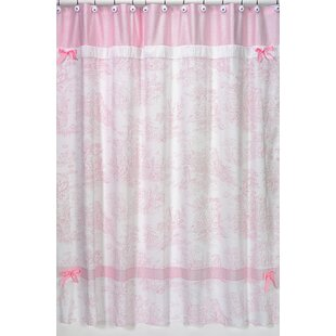 French Toile Single Shower Curtain