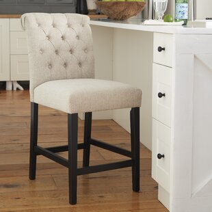 Urbana Upholstered Bar Stool (Set of 2) DarHome Co