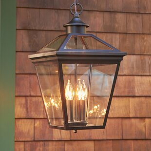 Outdoor hanging lights youll love wayfair coleg 4 light outdoor hanging lantern aloadofball Images