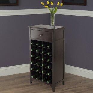 Shanley 24 Bottle Floor Wine Bottle Rack by Winston Porter