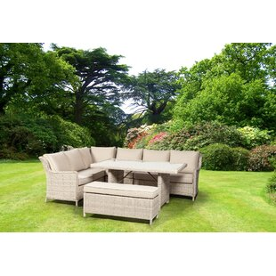 Leopold 8 Seater Rattan Sofa Set By Sol 72 Outdoor