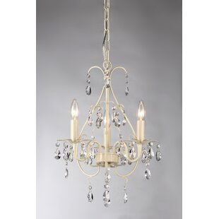 Woodway 3-Light Candle Style Chandelier