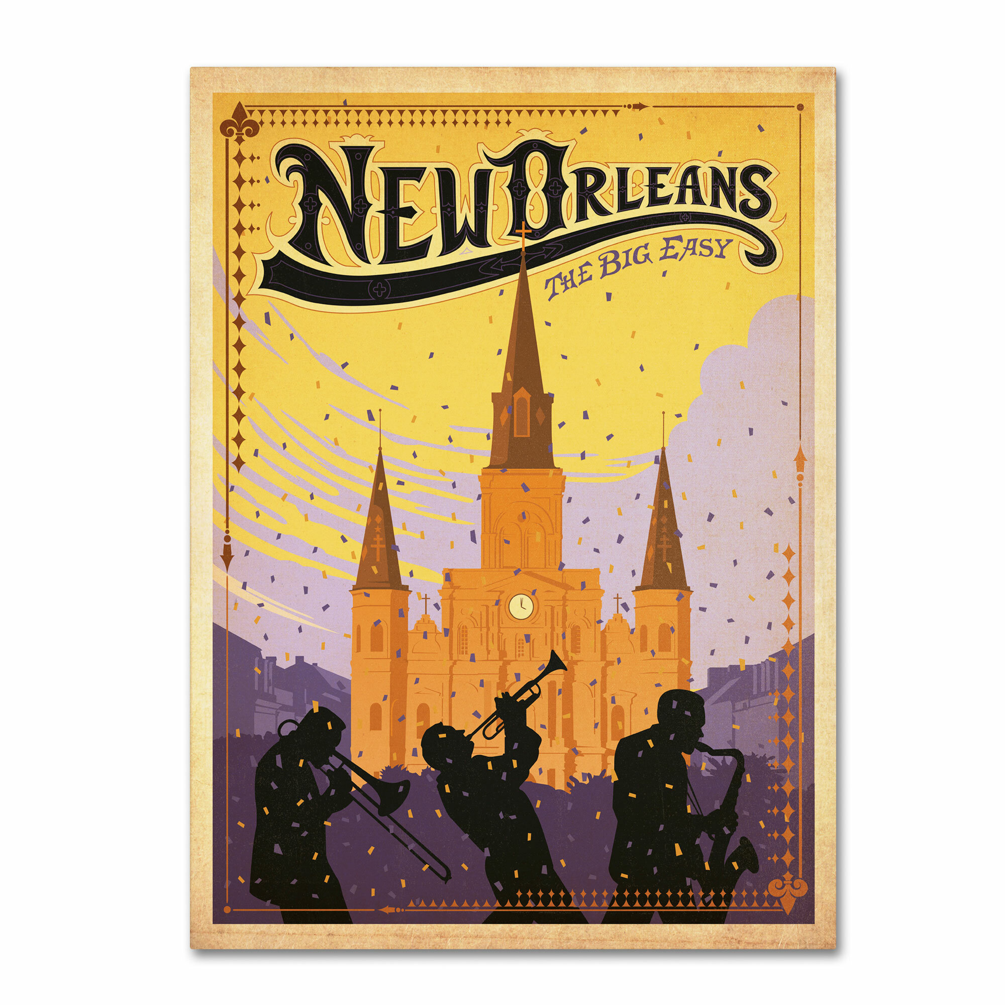 Trademark art new orleans by anderson design group for Craft store new orleans