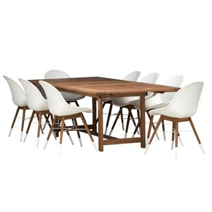 Cruise 9 Piece Dining Set by Corrigan Studio Wonderful