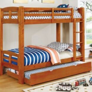 Online Reviews Newcastleton Twin over Twin Bunk Bed by Harriet Bee Reviews (2019) & Buyer's Guide