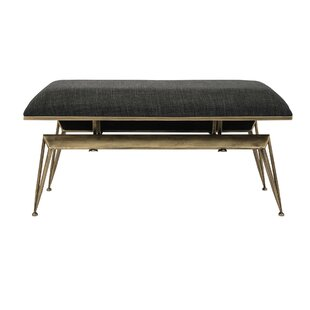 Arran Metal Bench by Ivy Bronx