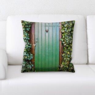 Lawson Door (1) Throw Pillow by Latitude Run