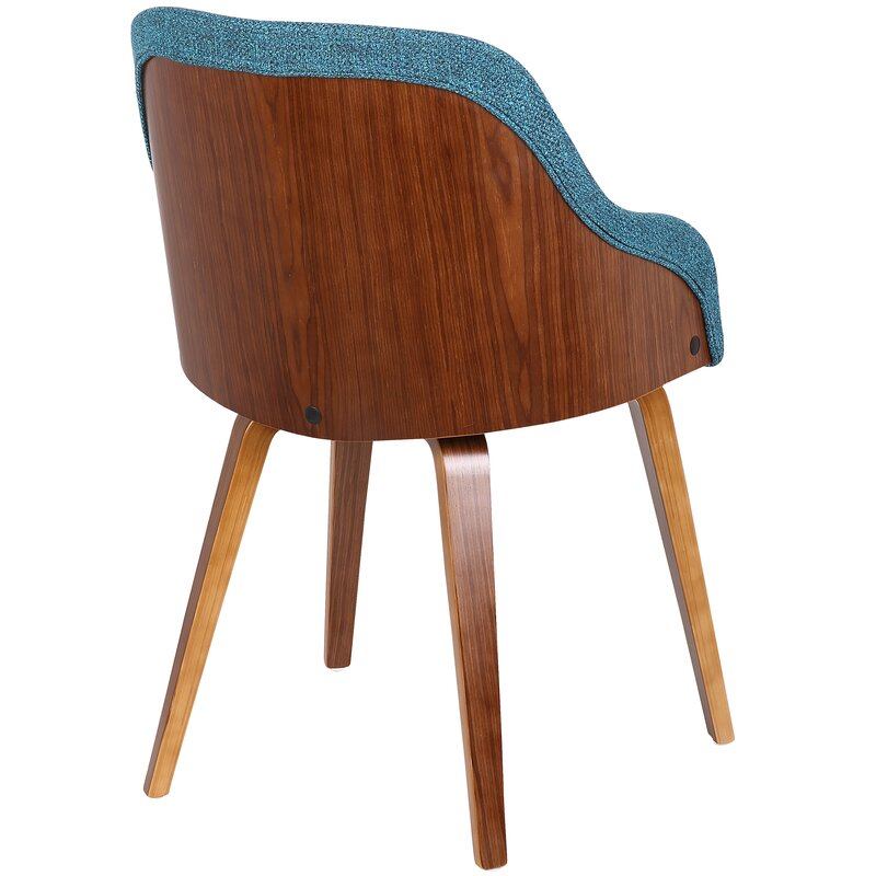 Captivating Brighton Mid Century Modern Upholstered Dining Chair