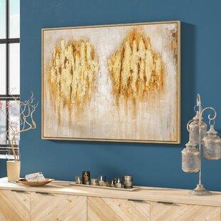 Framed Painting Print & Orange Wall Art Youu0027ll Love | Wayfair