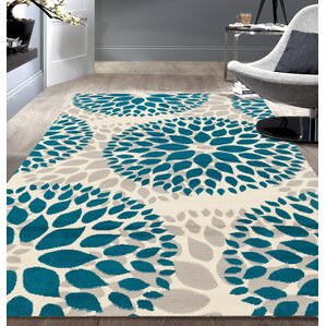 blue rugs you'll love   wayfair