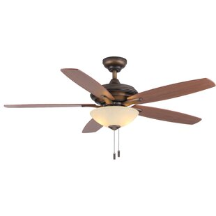 Reviews 52 Vandiver 5-Blade Ceiling Fan By Winston Porter