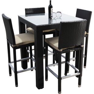 Ibiza 5 Piece Dining Set With Cushions by Madbury Road Herry Up
